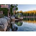 Озеро в Карелии Алмазная вышивка мозаика АЖ-1497