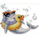 Дельфин Набор для вышивания Каролинка