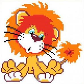 Львенок Набор для вышивания Каролинка