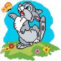 Зайчонок Набор для вышивания Каролинка