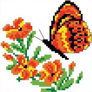 Бабочка Набор для вышивания Каролинка