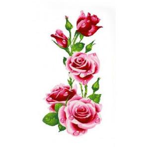 Розы Набор для вышивания Каролинка
