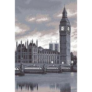 Лондон Канва с рисунком для вышивки бисером
