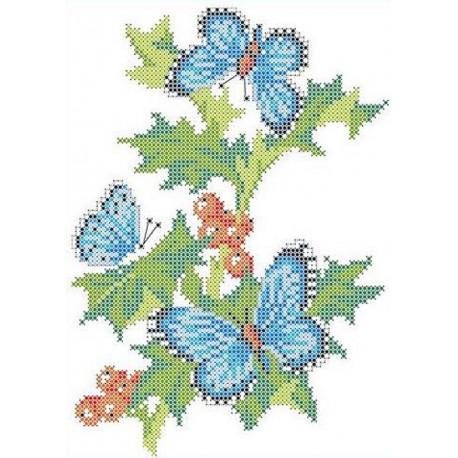 На смородине Канва с рисунком для вышивки бисером