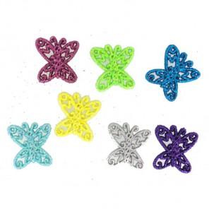 Бабочки ажурные Пуговицы декоративные Jesse James & Co