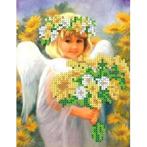 Солнечный ангел Канва с рисунком для вышивки бисером