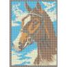 Лошадь Канва с рисунком для вышивки бисером
