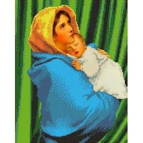 Странствующая Мадонна Канва с рисунком для вышивки бисером