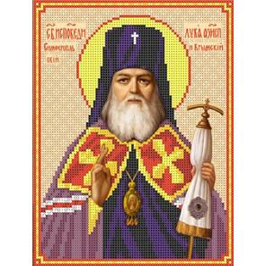 Святой Лука Канва с рисунком для вышивки бисером