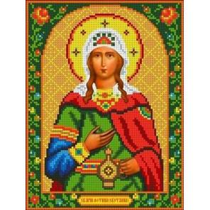 Святая Фотиния (Светлана) Канва с рисунком для вышивки бисером