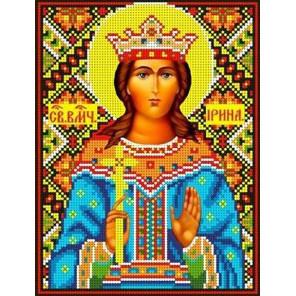 Святая Ирина Канва с рисунком для вышивки бисером