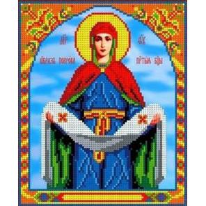 Покров Пресвятой Богородицы Канва с рисунком для вышивки бисером