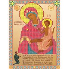 Богородица Нечаянная радость Канва с рисунком для вышивки бисером