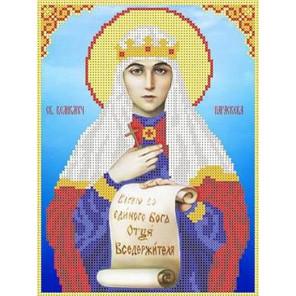 Святая Параскева Канва с рисунком для вышивки бисером