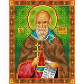 Святой Максим Канва с рисунком для вышивки бисером