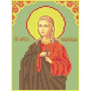 Святая Надежда Канва с рисунком для вышивки бисером