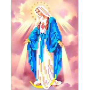 Святая Мария Канва с рисунком для вышивки бисером