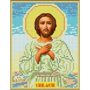Святой Алексий Канва с рисунком для вышивки бисером