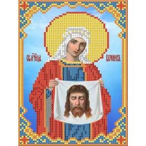 Святая Вероника Канва с рисунком для вышивки бисером
