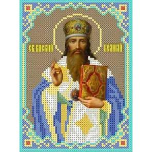 Святой Василий Канва с рисунком для вышивки бисером
