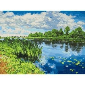 У реки Раскраска картина по номерам на холсте 281-AS