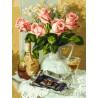 Розы и шоколад Раскраска картина по номерам на холсте 283-AS