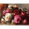 Розы Ренуара Раскраска картина по номерам на холсте 316-AS