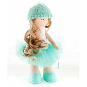 Агнесса в голубом Набор для изготовления дизайнерских игрушек