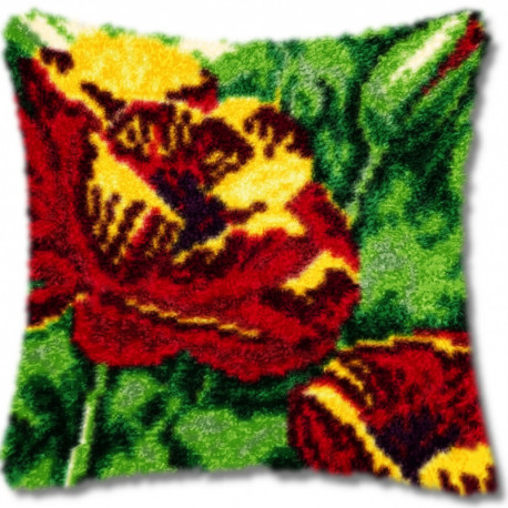 Маки Набор для вышивания подушки