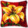 Лилия Набор для вышивания подушки