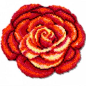 Роза Набор для вышивания коврика