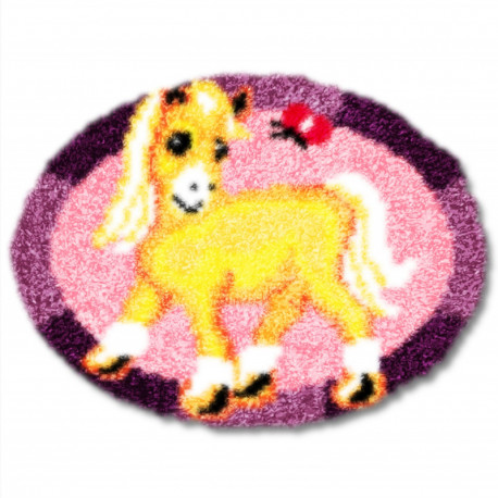 Пони Набор для вышивания коврика
