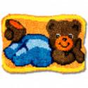 Мишка Набор для вышивания коврика