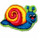 Улитка Набор для вышивания коврика