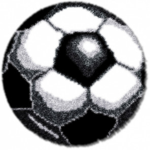 Футбол Набор для вышивания коврика