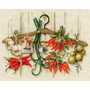 Острые приправы Набор для вышивания Риолис 1794