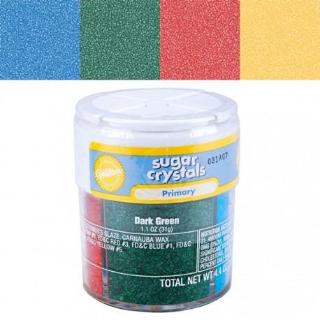 Основные цвета Сахарная посыпка для украшения тортов и выпечки Wilton ( Вилтон )