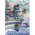 Море любви Набор для вышивания МП-Студия НВ-686