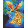 Жар птица Канва с рисунком для вышивки бисером