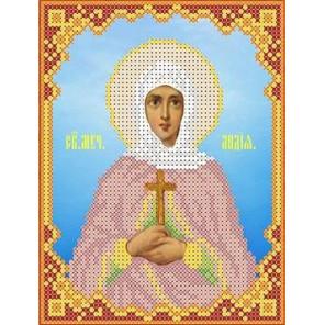 Святая Лидия Канва с рисунком для вышивки бисером