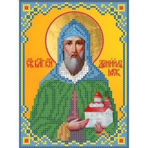 Святой Даниил Канва с рисунком для вышивки бисером
