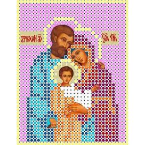 Святое семейство Канва с рисунком для вышивки бисером