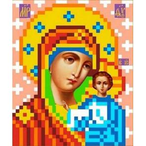 Богородица Казанская Канва с рисунком для вышивки бисером