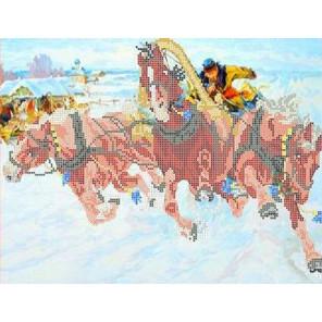 Картина Грузинского Канва с рисунком для вышивки бисером