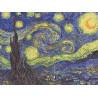 Ван Гог. Звездная ночь Канва с рисунком для вышивки бисером