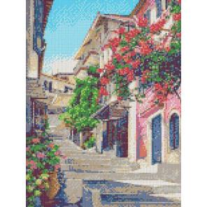 Улочки Италии Канва с рисунком для вышивки бисером