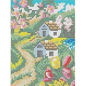 Весна Канва с рисунком для вышивки бисером