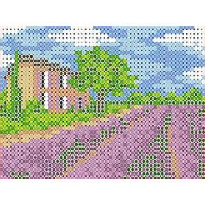 В поле Канва с рисунком для вышивки бисером