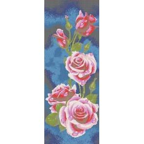 Розы Канва с рисунком для вышивки бисером