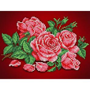 Аромат розы Канва с рисунком для вышивки бисером